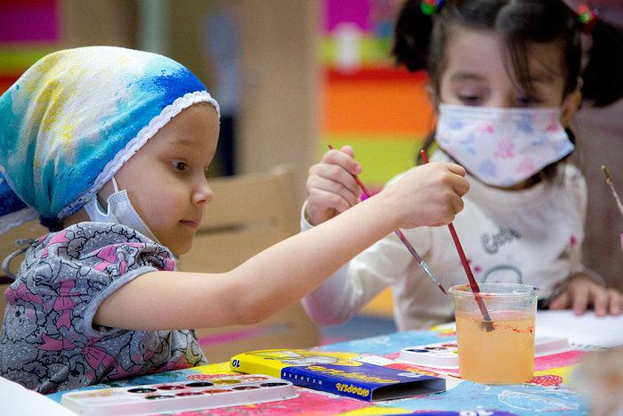 Мастер-класс в детском онкологическом центре