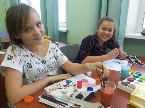 Волонтеры в детском приюте в Ступино
