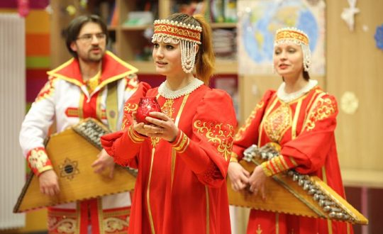 Волонтеры организовали концерт в ФНКЦ