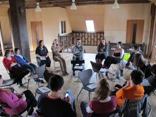 Выездная сессия волонтерского движения