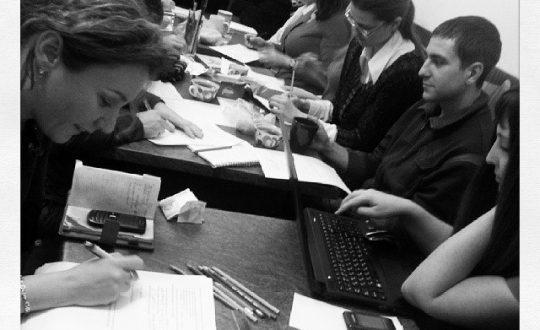 Собрание координаторов волонтерских групп